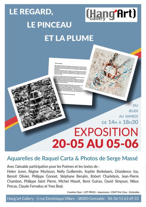 Raquel CARTA et Serge MASSE 20 mai au 5 juin 2021