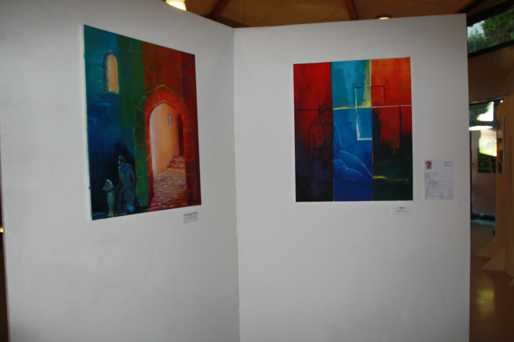 Martine Duflos - Exposition 2013