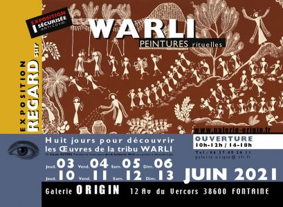 WARLI 3 au 6 juin et 10 au 13 juin 2021